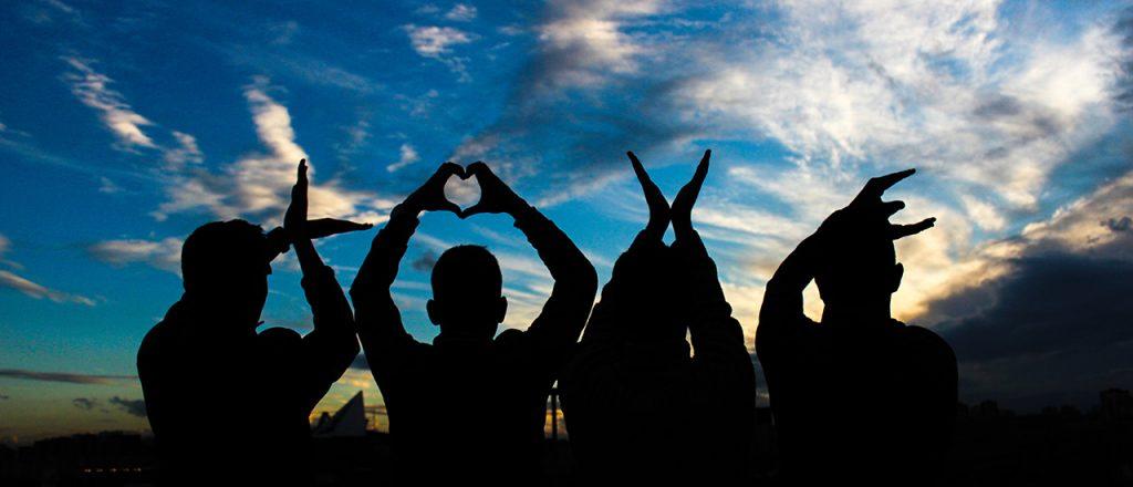 LOVE-Silhouette
